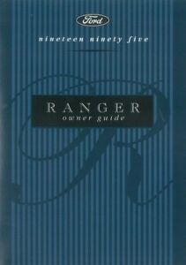 1995 ford ranger owners manual