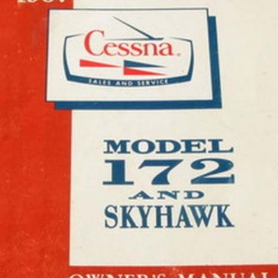 1967 cessna 172 owners manual