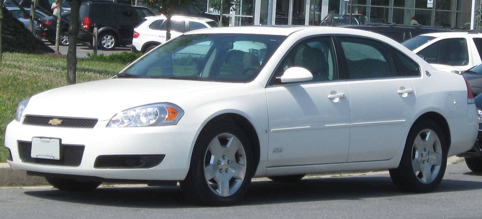 06 impala ss owners manual