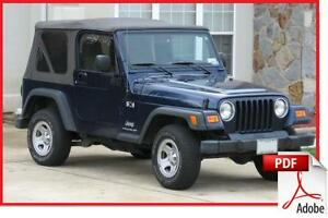 99 jeep wrangler owners manual