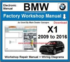 2013 bmw x1 owners manual
