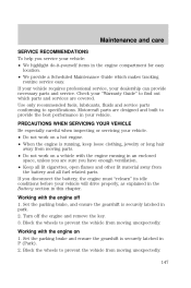 owners manual for 2000 mercury sable