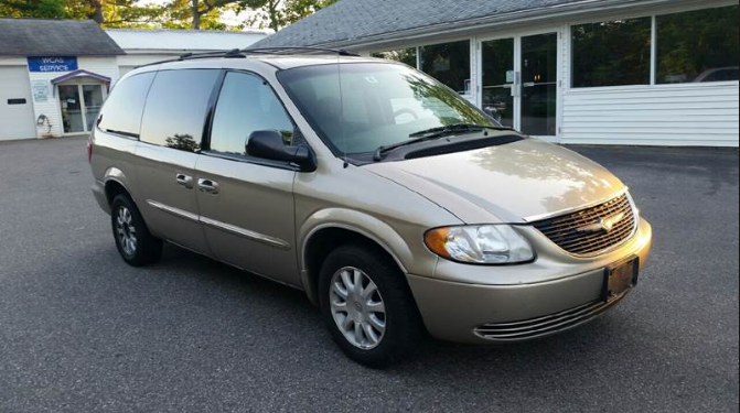 2003 chrysler town and country owners manual