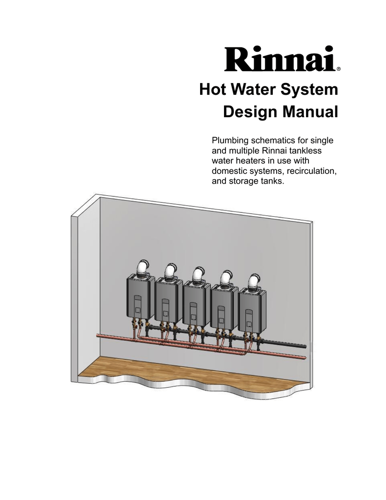 rinnai tankless water heater owners manual