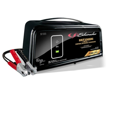 schumacher se 82 6 2 6a 12v manual traditional charger